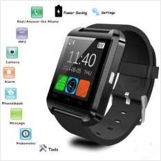 Black Bluetooth Smart Watch Camera For Android&IOS Iphone Samsung LG