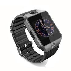Hitam Bluetooth Sport Smart Pinggang Watch Ponsel Mate SIM untuk Android LG