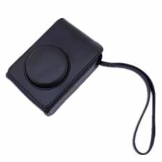 Kamera Hitam Pu Kulit Kemasan Tas untuk Fuji XQ2 (Internasional)-Internasional