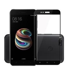 Obral Warna Hitam Pelindung Layar Untuk Xiaomi Mi 5X5 5 Inch Glas 9 H 3Mm Full Cover Tempered Glass Untuk Xiaomi Mi5X Film Pelindung Intl Murah