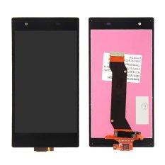 Hitam LCD Layar Sentuh dengan Digitizer Assembly untuk T-mobile Sony Xperia Z1S L39T C6916 Pengganti-Internasional