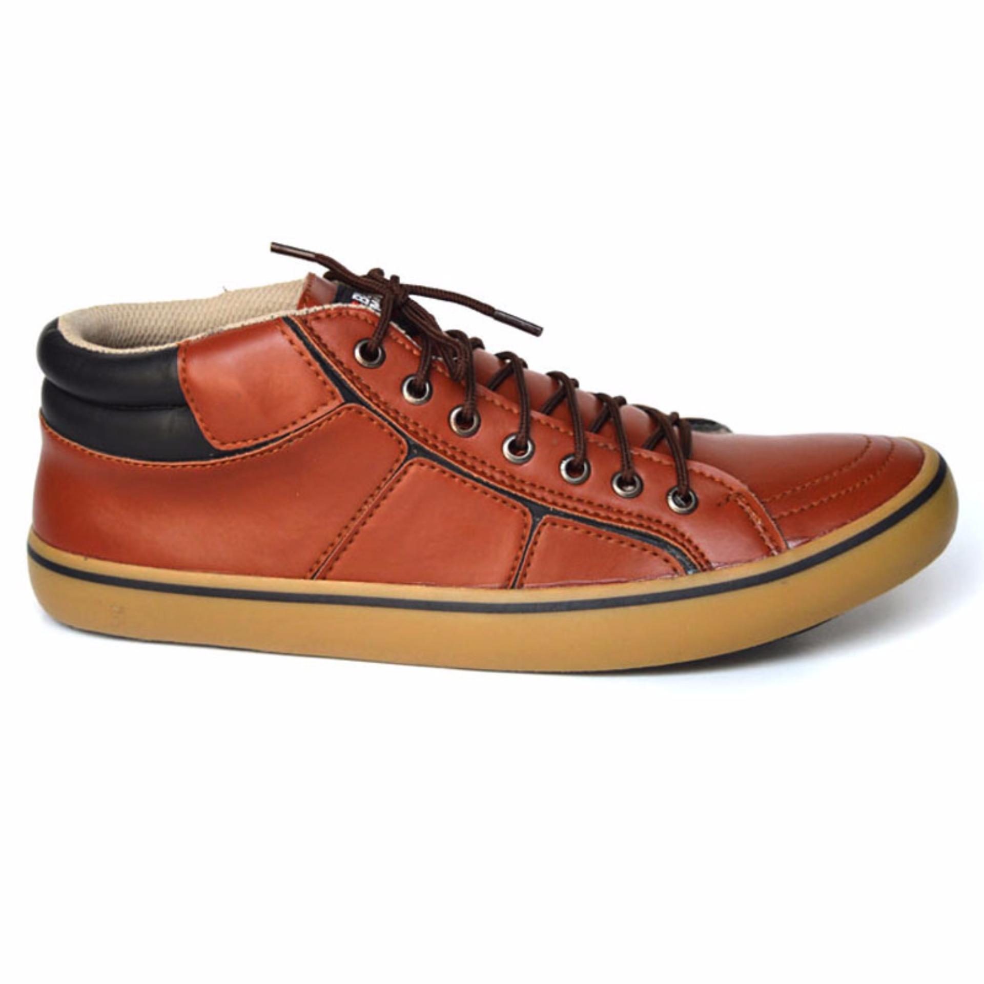 Black Master Geox Sepatu Sneakers Pria tan