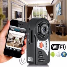 Hitam Portable Wireless Wifi Ip Kamera Indoor Outdoor P2P Mini Dv Video Perekam Intl Diskon Akhir Tahun
