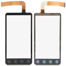 Hitam Penggantian dengan Digitizer untuk HTC EVO 3D G17 Layar Sentuh Sensor B0229 P0.25-Intl