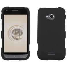 Black Rubberized Hard Case Cover for Samsung Galaxy Victory 4G - intl