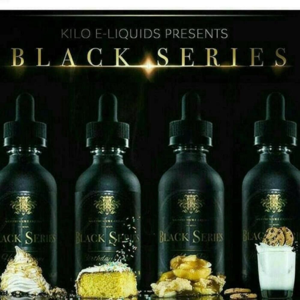 Bandingkan Toko BLACK SERIES Kilo Premium eLiquids 60ML / 1pcs rasa rendom sale - Hanya Rp48
