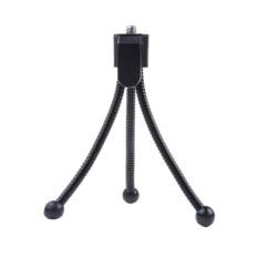 Hitam Kecil Fleksibel Fleksibel Laba-laba Kaki Tripod untuk Kamera Kompak-Internasional