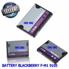 Blackberry Baterai / Battery Pearl 9105 9670 Battery F-M1 Original
