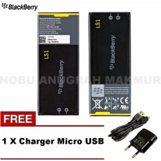 Jual Blackberry Baterai Ls 1 For Z10 Baterai Original Free Charger Micro Usb Black Ori