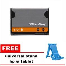 Jual Blackberry Battery Torch 9800 9810 F S1 Original 1270Mah Gratis Penyangga Hp Universal Dki Jakarta Murah