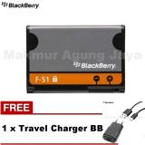 Ulasan Blackberry Battery Torch Fs 1 9800 9810 Original 1270Mah Free Charger Warna Rondem