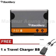 Jual Blackberry Battery Torch Fs 1 9800 9810 Original 1270Mah Free Charger Warna Rondem Murah Di Dki Jakarta