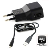 Harga Blackberry Travel Charger Bb Z10 Q5 Original Hitam Terbaru