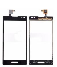 (Hitam) Baru untuk LG Optimus L9 P760 Layar Sentuh Digitizer Aksesoris + 3 M Tape + Membuka Alat Perbaikan + Lem