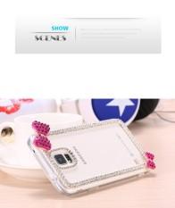 BLING Berlian Case untuk Samsung Galaksi S9 PLUS Lucu Ikatan Simpul Berlian Buatan Keras Sarung untuk Samsung Galaksi S9 Plus-Internasional