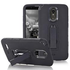 Bling Hard Soft Rubber Impact Armor Case Punggung Hibrida Cover untuk LG Stylo 3 Plus-Intl