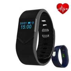 Blood Pressure Blood Oxygen Smartband Heart Rate Monitor M5Bluetooth Smart Band Bracelet Sport Watch Wristband for iOS Android &