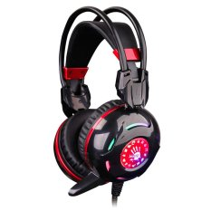 Promo Toko Bloody G300 Combat Led Backlight Gaming Headset Hitam
