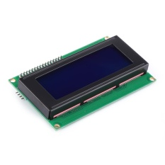 Blue Screen Putih Karakter IIC I2C Serial 2004A 5 V LCD Display Modul-Internasional