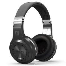 Bluedio H+ Turbine Headphone with Bluetooth 4.1 - Hitam