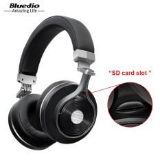 Bluedio Headphone T3+ Original 3D bass Bluetooth Wireless Headset Portable With Microphone For Music Iphone Samsung Xiaomi Headphones Black