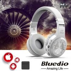 Bluedio Headset Bluetooth In Ear H Original Headphone Turbine With Bluetooth 4 1 Putih Bluedio Murah Di Indonesia