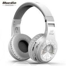 Kualitas Bluedio Bluetooth Headphone Nirkabel Th With Mikrofon Putih Bluedio