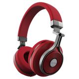 Jual Bluedio T3 Bluetooth Headphone Lipat Dengan Mikrofon Merah Termurah