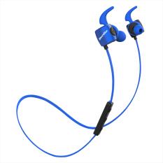 Bluedio Bluetooth Te 4 1 Headphone Olahraga Keringat Mikrofon Biru Diskon Tiongkok
