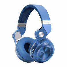 Harga Bluedio Turbine T2 T2 Plus Headphone Headset Bluetooth 4 1 With Sd Card Slot Fm Radio Scan Function Biru Asli