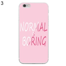 Bluelans® Normal is Boring Phone Case Cover for iPhone 7 Plus 5.5 (3#)