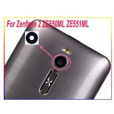 BLUESKY Original Housing Rear Kembali Lensa Kaca Kamera dengan Perekat untuk ASUS Zenfone 2 ZE551ML ZE550ML-Intl