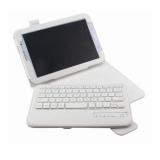 Harga Bluesky Ultra Tipis Aluminium Wireless Bluetooth Keyboard Qwerty Kulit Kasus Penutup Untuk Samsung Galaxy Note 8 N5100 N5110 N5113 Putih Satu Set