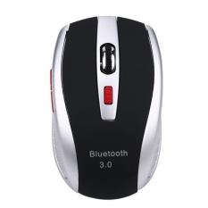 Beli Bluetooth 3 Nirkabel 1600 Dpi Optical Mouse Untuk Windows 7 8 10 Android Pc Silver Intl Vakind Dengan Harga Terjangkau