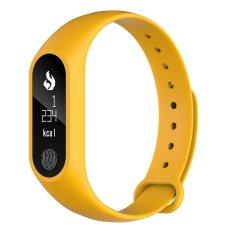 Spesifikasi Bluetooth 4 M2 Plus Tahan Air Jam Pintar Detak Jantung Monitor Oranye Intl Terbaik