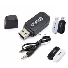 Bluetooth Audio Receiver Wireless Musik - Hitam/Black