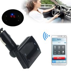 Bluetooth Car Kit MP3 FM Transmitter USB Charger Handsfree For iPhone - intl