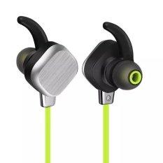 Beli Headset Headphone Bluetooth Headphone Nirkabel Bluetooth 4 1 Inci Stereo Headset Hi Fi Headphone Telinga With Mikrofon Anti Keringat For Smartphone Tablet Pc Magnet Adsorpsi Hijau Intl Murah