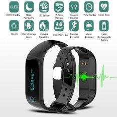Jual Bluetooth Fitness Tracker Heart Rate Monitor Smart Watch For Phone Wahoo Strava Endomondo Intl Online