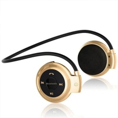 Cara Beli Bluetooth Foldable Olahraga Headwear Headphone Musik Headset Earphone Dengan Tf Fm Intl