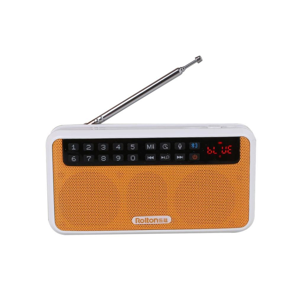 Toko Bluetooth Handsfree Slim Mini Speaker Digital Fm Radio Tf Mp3 Pemutar Musik Di Tiongkok