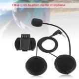 Promo Justgogo Bluetooth Headphone Mikrofon Untuk V4 V6 Motor Helm Intercom Murah