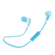 Jual Headset Bluetooth Stereo Headphone Nirkabel Kebisingan Mengisolasi Alat Pendengar Biru International Di Bawah Harga