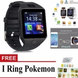 Promo Bluetooth Smart Watch Dz09 With Camera For Android And Ios Black Free Iring Pokemon Mwalk Terbaru