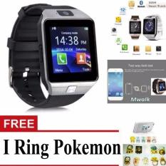 Spesifikasi Bluetooth Smart Watch Dz09 With Camera For Android And Ios Silver Free Iring Pokemon Terbaru