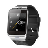 Dapatkan Segera Bluetooth Smart Watch Gv18 Wearable Aplus Gv18 Watch Mendukung Nfc Untuk Android Ios Ponsel Gsm Anti Kehilangan Sim Kartu Gdz4 Hitam