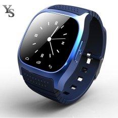 Bluetooth Smart Watch M26 Smartwatch Dial SMS Pedometer untuk Samsung Xiaomi Alcatel ZTE Lenovo Android Phone Grosir-Intl