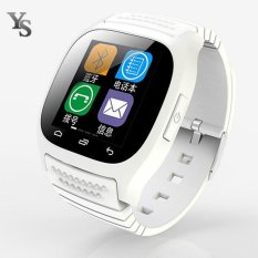 Bluetooth Smart Watch M26 Smartwatch Dial SMS Pedometer untuk Samsung Xiaomi Alcatel ZTE Lenovo Android Phone Grosir-Intl