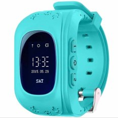 Bluetooth Smart Watch Q50 Smartwatch GPS Tracker for Kids Children iPhone IOS Android Windows Phone Wear Wach Wearable Devices (Blue)