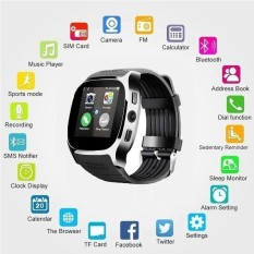 Bluetooth Smart Watch with Camera Music Player Facebook Whatsapp Sync SMS Smartwatch Support SIM TF Card PK T8 - intl